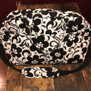 Vera Bradley Day and Night Weekend Duffle Bag